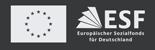 ESF – Europäischer Sozialfonds für Deutschland