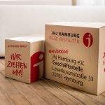 Die Geschäftsstelle von jhj Hamburg zieht in neue Räumlichkeiten